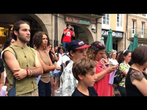 Manifestación libertad La Manada 22-06-2018