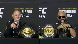 UFC 255: Главные моменты пресс-конференции смотреть онлайн в хорошем качестве - VIDEOOO