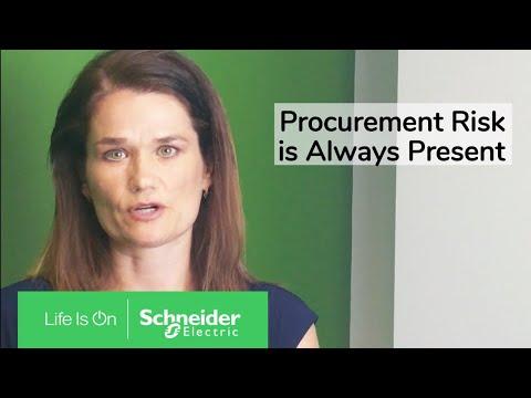 Procurement Risk, Always Present | Schneider Electric