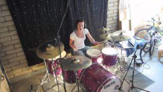 vuclip Lindsey Raye Ward - Skillet - Awake And Alive (Drum Cover)