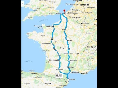 MOTORHOME ROAD TRIP THROUGH FRANCE TO SPAIN DAY 1