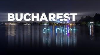 Bucharest at night | A Time Lapse/Hyper Lapse Film 4K