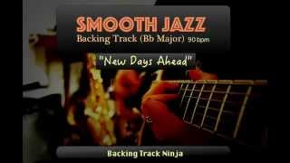 Smooth Jazz Backing Track In Bb Major [90bpm] HIGH QUALITY