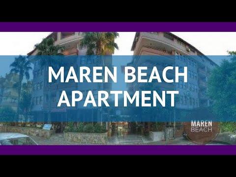 MAREN BEACH APARTMENT 3* Турция Алания обзор – отель МАРЕН БИЧ АПАРТМЕНТС 3* Алания видео обзор