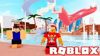 Roblox → O MUNDO DOS PARQUES AQUÁTICOS ► Roblox Water Park World 🎮