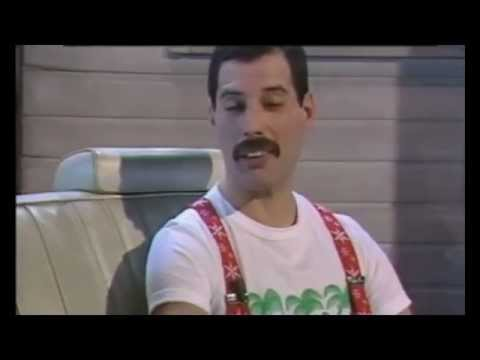 "Freddie Mercury Interview ""The Bigger The Better"" - David Wigg 1985"