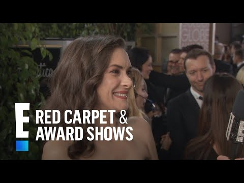 Winona Ryder Gushes Over Christian Slater at 2017 Globes  E! Live from the Red Carpet