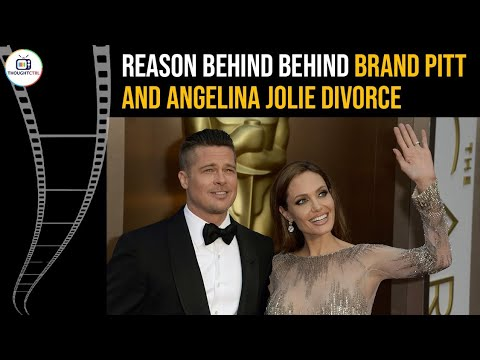 REASON BEHIND BRAD PITT AND ANGELINA JOLIE DIVORCE | BRAD SUED BY A WOMAN | @THOUGHTCTRL | #shorts