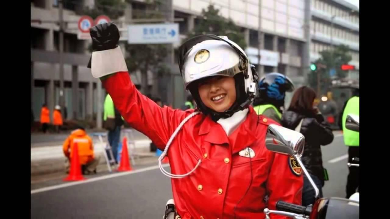 japan police motororcycle woman ���������������� youtube