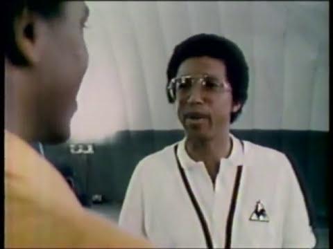 3-2-1 Contact segment -- Tennis legend great Arthur Ashe -- 1980