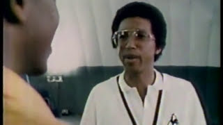 3-2-1 Contact segment -- Tennis legend great Arthur Ashe -- 1980
