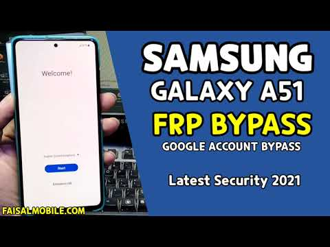 Samsung A51 FRP Bypass 2021 New Security Patch
