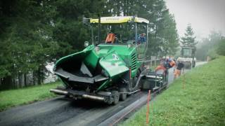 VÖGELE Wheeled Paver SUPER 1803-3i, Chur/Switzerland