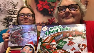 The Elf on the Shelf North Pole Advent Train