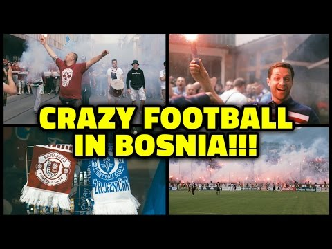 CRAZY FOOTBALL MATCH IN BOSNIA & HERZEGOVINA!!!