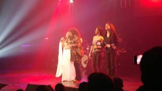 Jonalyn Viray with the Tres Marias at Journey Into My Heart Concert