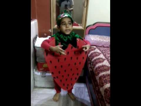59294b33b1b1 Fancy dress competition - strawberry - YouTube