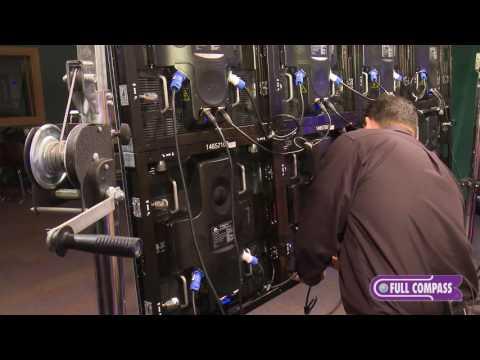 ADJ AV6 LED Video Wall Panel Assembly | Full Compass
