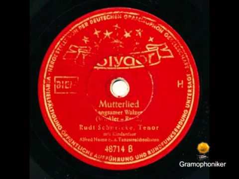 MUTTERLIED - Rudi Schuricke - Alfred Hause mit seinem Orchester