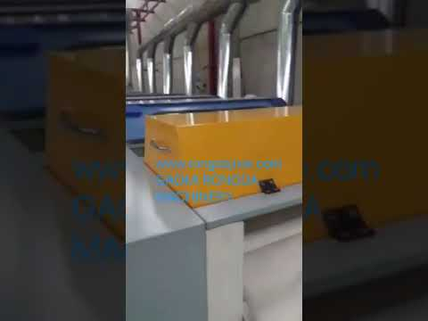 union style textile waste recycling machine
