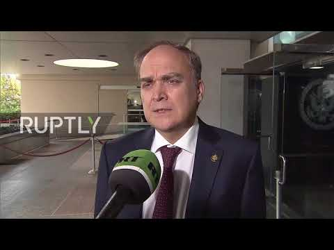USA: New Russian ambassador to US Antonov urges ending 'attacks on Russia'
