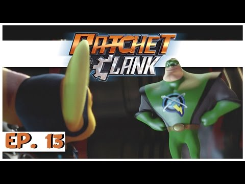 Ratchet and Clank PS4! - Ep. 13 - Captian Quark Boss Fight! - Let