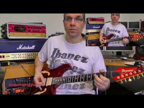 Gitarre lernen - Wie spiele ich eigentlich...Shot Down In Flames von AC/DC?