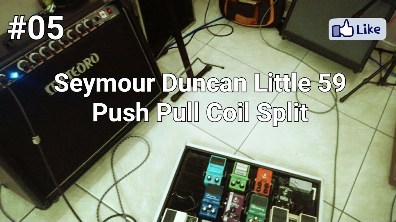 05 rig review seymour duncan little 59 push pull coil split youtube. Black Bedroom Furniture Sets. Home Design Ideas