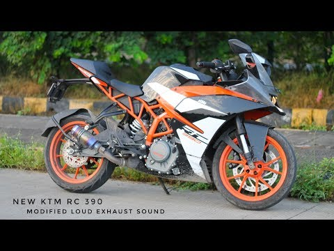New KTM RC 390 Modified Loud Exhaust Sound || Modification ||:-