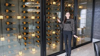 A WALL OF VEUVE Champagne in MY HOUSE | Dubrow House Tour