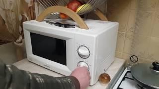 Как пожарить яичницу в микроволновке за три минуты? Рецепт.