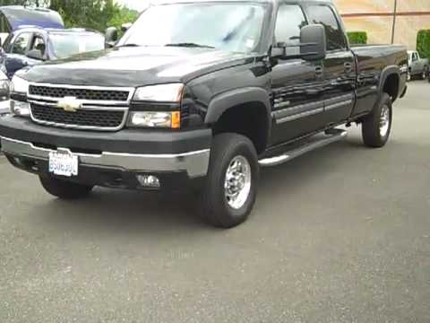 sold 2007 chevrolet silverado 2500 crew cab long bed. Black Bedroom Furniture Sets. Home Design Ideas