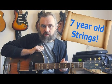 7 year old strings - What is the difference in sound?