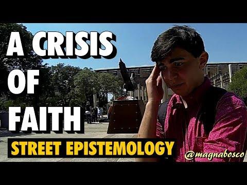 Street Epistemology: Carlos | A Crisis of Faith