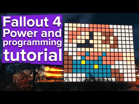 Fallout 4 - Power and Programming tutorial (PC gameplay)
