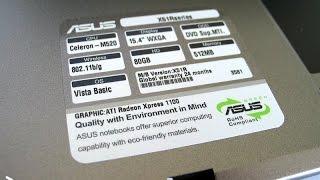 ASUS X51RL разборка, чистка, замена термопасты, тормозит(, 2016-11-06T09:31:39.000Z)