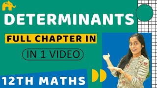 Determinants Class 12 | Maths Chapter 4 Determinant