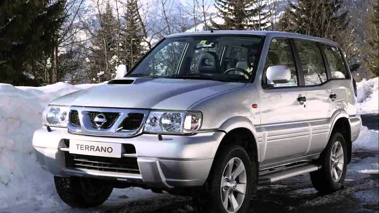 nissan terrano 4x4 youtube. Black Bedroom Furniture Sets. Home Design Ideas