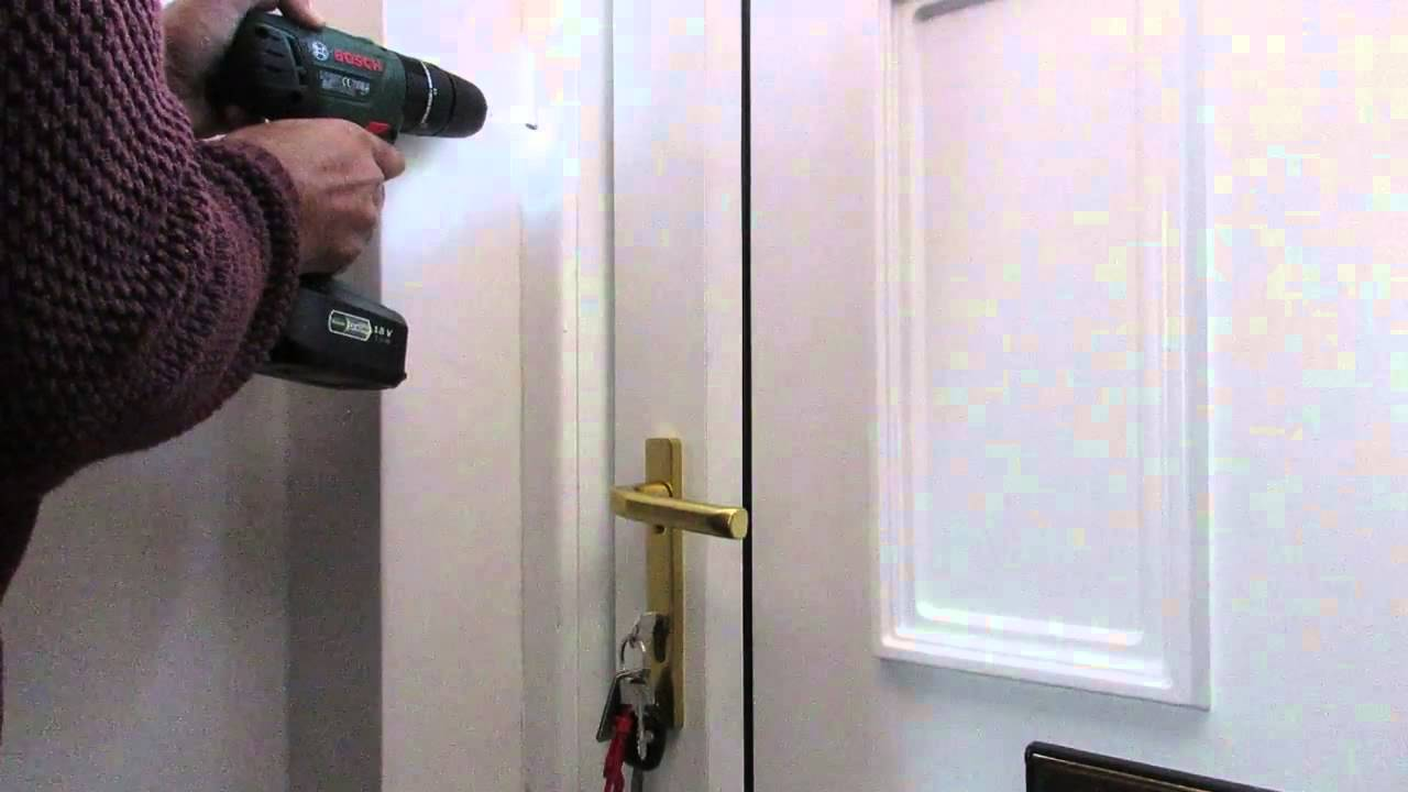 Perfect Installing A Door Chain
