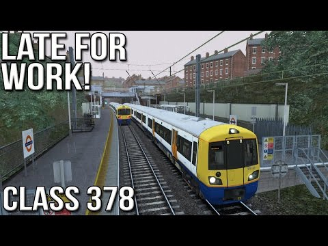 Late for Work! - Class 378 - Train Simulator 2016