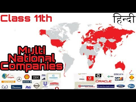 #4 [Hindi] Multi National Companies | Class 11th.