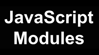 JavaScript Modules & Build Tools