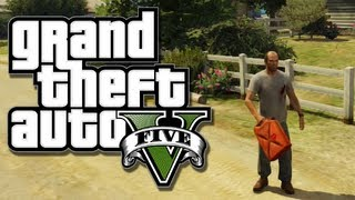 GTA 5 Funny Moments - Epic Jump, Sticky Bombs, Meth Lab Explosion (Funtage)