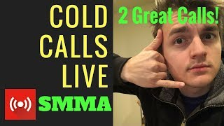 Cold Calling for SMMA LIVE! Let's get a meeting. 10+ calls