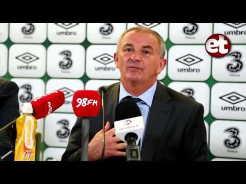 Rep. of Ireland v Kazakhstan - Post Match Conference