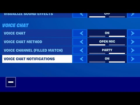 Here's How To Fix Game Chat On Fortnite. Xbox PlayStation PC Nintendo Mobile