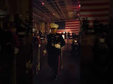 Uss Hornet / Marine's Ball / 242nd Birthday Celebration