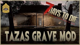 CABIN IN THE WOODS | 7 Days To Die Alpha 17 Gameplay | Taza