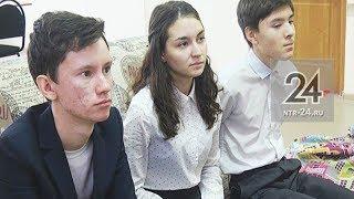 В Нижнекамске слабослышащие дети изучают английский с помощью телеканала НТР 24