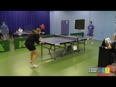 2012 PTTA Division 2 play off for a Semi Final place: Hattie Brittain vs Andy Hindle